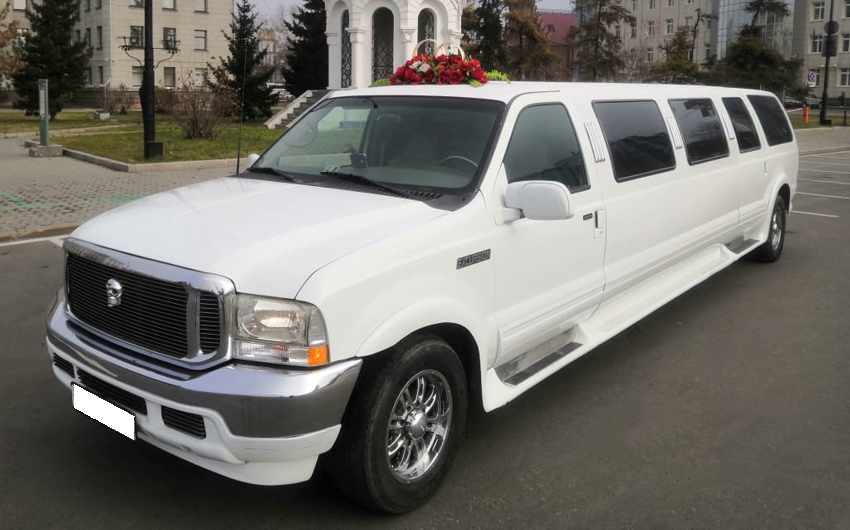 Ford Excursion 15 мест